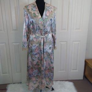 Victorias Secret Floral Full Length Robe